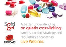 LIVE WEBINAR - A better understanding of gelatin cross-linking