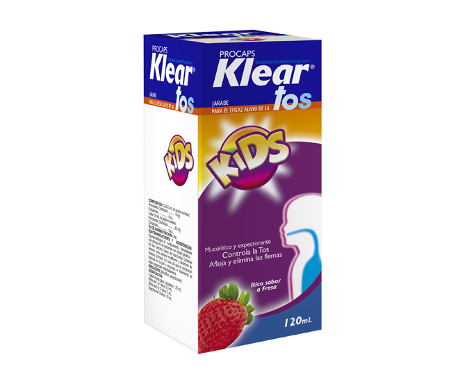 Klear Tos Kids Frasco x 120 ml