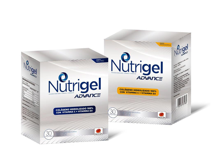 Nutrigel Advance Caja x 30