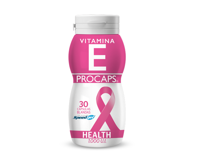 Vitamina E Procaps Health (1.000 U.I.) Frasco x 30