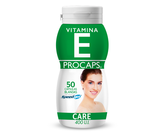 Vitamina E Procaps Care (400 U.I.) Caja x 50